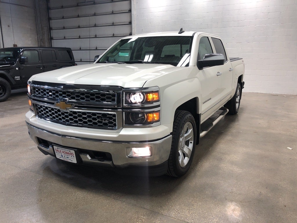 2015 Chevrolet Silverado 1500 Ltz Iowa Falls Ia Ames Marshall Town Chevy Radio Upgrade In Dale Howard Auto Center
